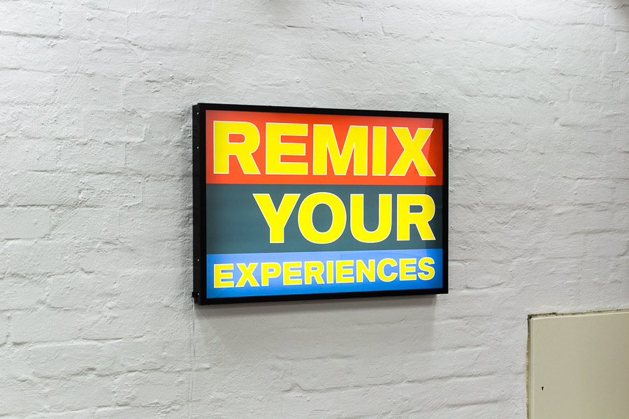 REMIX YOUR EXPERIENCES