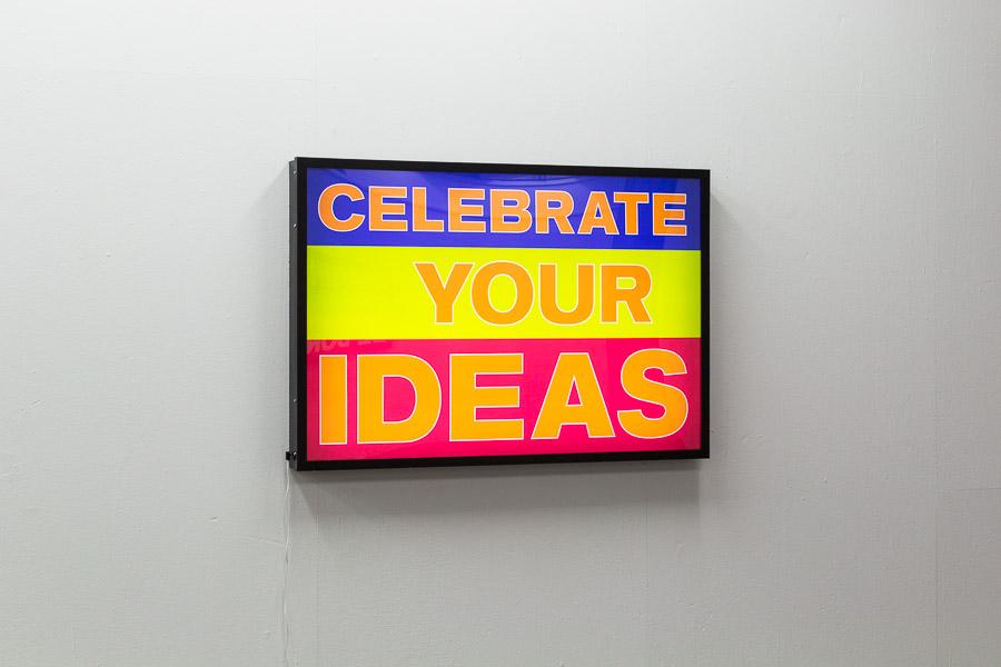 Feiere deine Ideen