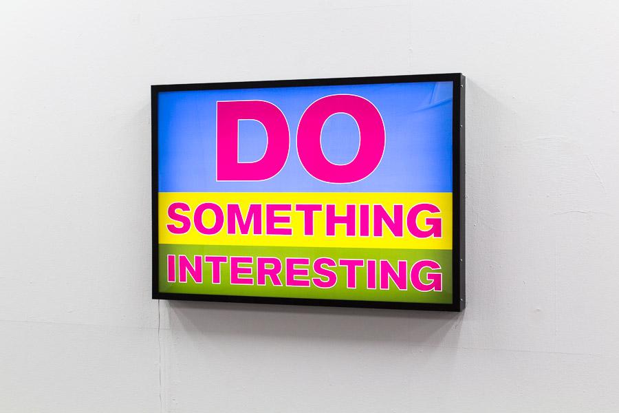 Mach etwas Interessantes