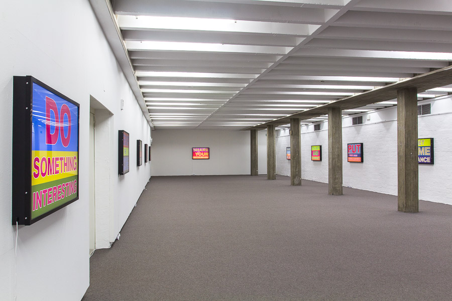 Exhibition view, Kunstverein Ingolstadt