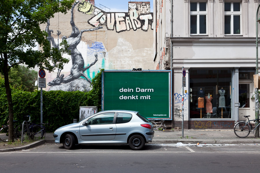Your Gut Thinks Along With You (Manteuffelstraße 42)