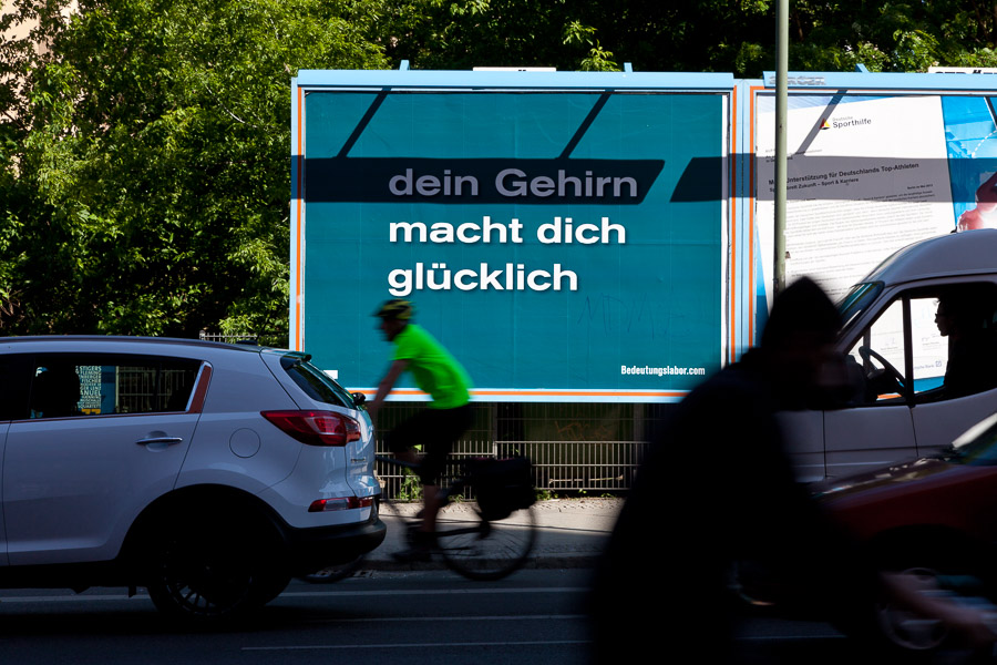Your Brain Makes You Happy (An der Schillingbrücke)