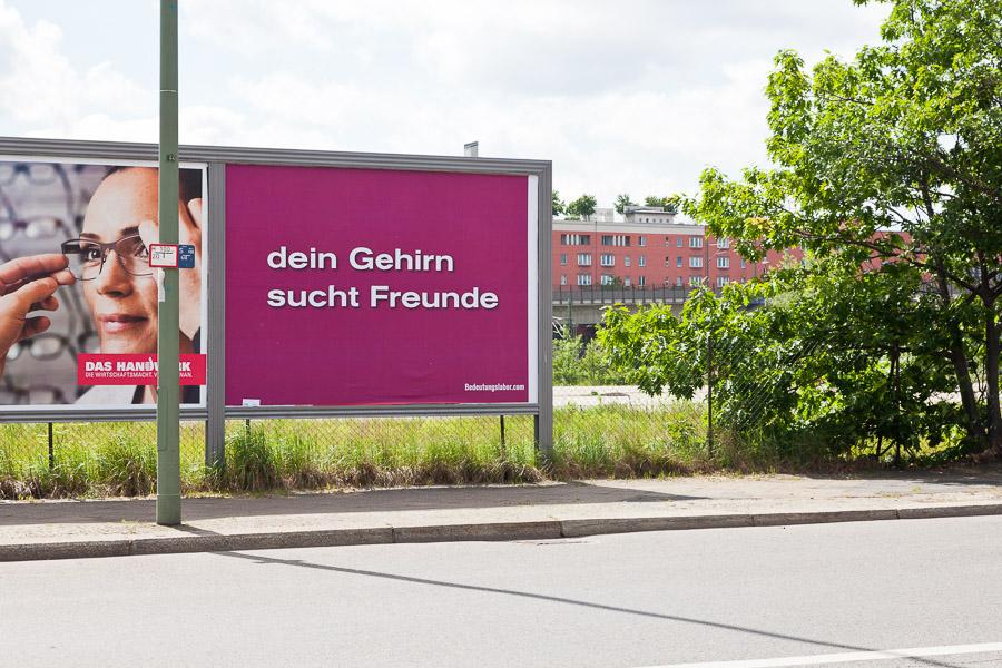 Your Brain is Looking for Friends (Heidestraße 31-44)