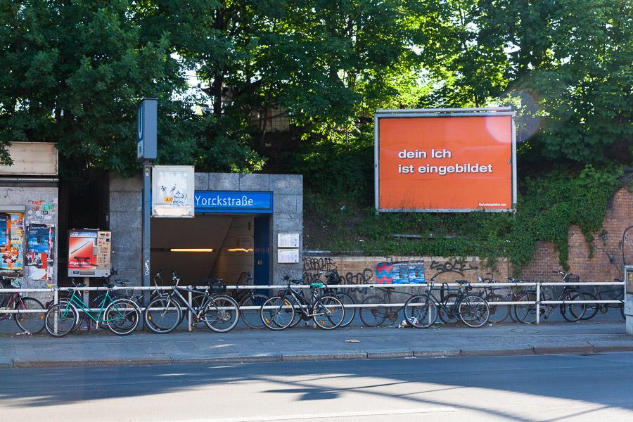 Your Ego is an Imaginary Bighead (U-Bahnhof Yorckstraße)