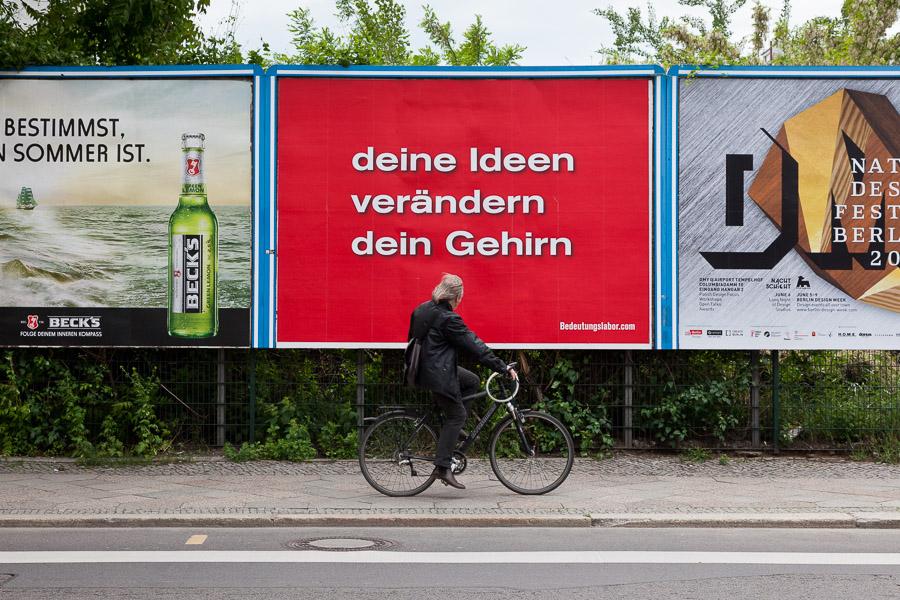 deine Ideen verändern dein Gehirn (Moritzplatz / Oranienburger Straße)